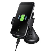 Multi Funtion Qi Wireless Charger Phone Mount Holder Fast Wireless Car Charger For Samsung Galaxy S6