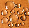 Free Shipping Wholesale 40Pcs/Lot 30MM Clear Glass Cover Round Cabochons Tone Cameo Jewelry Findings