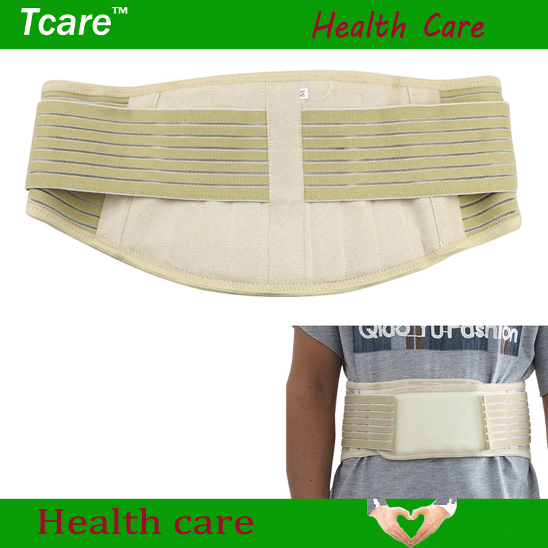 1Pcs New Adjustable Self-heating Lower Pain Relief Magnetic Therapy Tourmaline Waist Support Belt Brace Lumbar Double Pull Strap stylish rounded rectangle shape embellished cuff bracelet for women