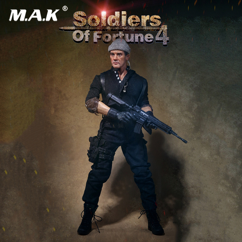 1:6 Scale Antonio Banderas Soldiers Of Fortune 4 Mercenaries Soldier Action Figure AF023 for Collections 1 6 scale full set soldier the lord of the rings elven prince legolas action figure toys model for collections