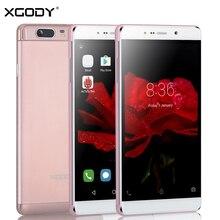 Xgody 6,0 zoll smartphone quad core 1 gb ram 16 gb rom mit Telefon Fall Dual SIM 13.0MP GPS 3G Setzte telefon