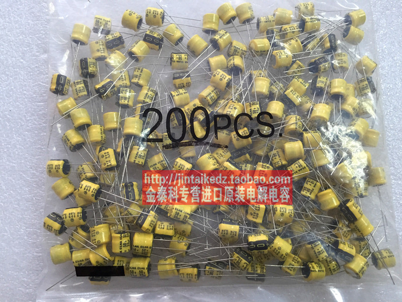 2018 hot sale 30PCS Imported ELNA electrolytic capacitor 50V33UF 8X7 RC2 yellow 85 degrees new origl stock free shipping
