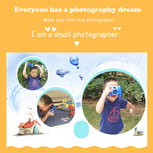 Image 5 - 어린이를위한 정품 komery 어린이 카메라 완구 카메라 신선한 캠코더와 재미있는 자동 카메라 안티 가을 건강한 소재
