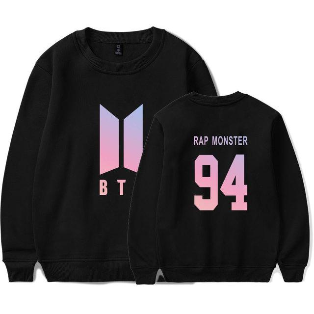 BTS Simple Logo Sweatshirt