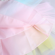Girls Newborn Tutu Dress Rainbow Princess Birthday Party