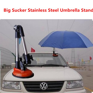 Кронштейн для зонта для автомобиля с инструктором, большая присоска для автомобиля, многофункциональный разъем из нержавеющей стали
