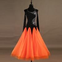 Ballroom Dress High Quality Standard Dance Competition Dresses Women Waltz Tango Performing Dancing Clothes Dance Wear DL3117