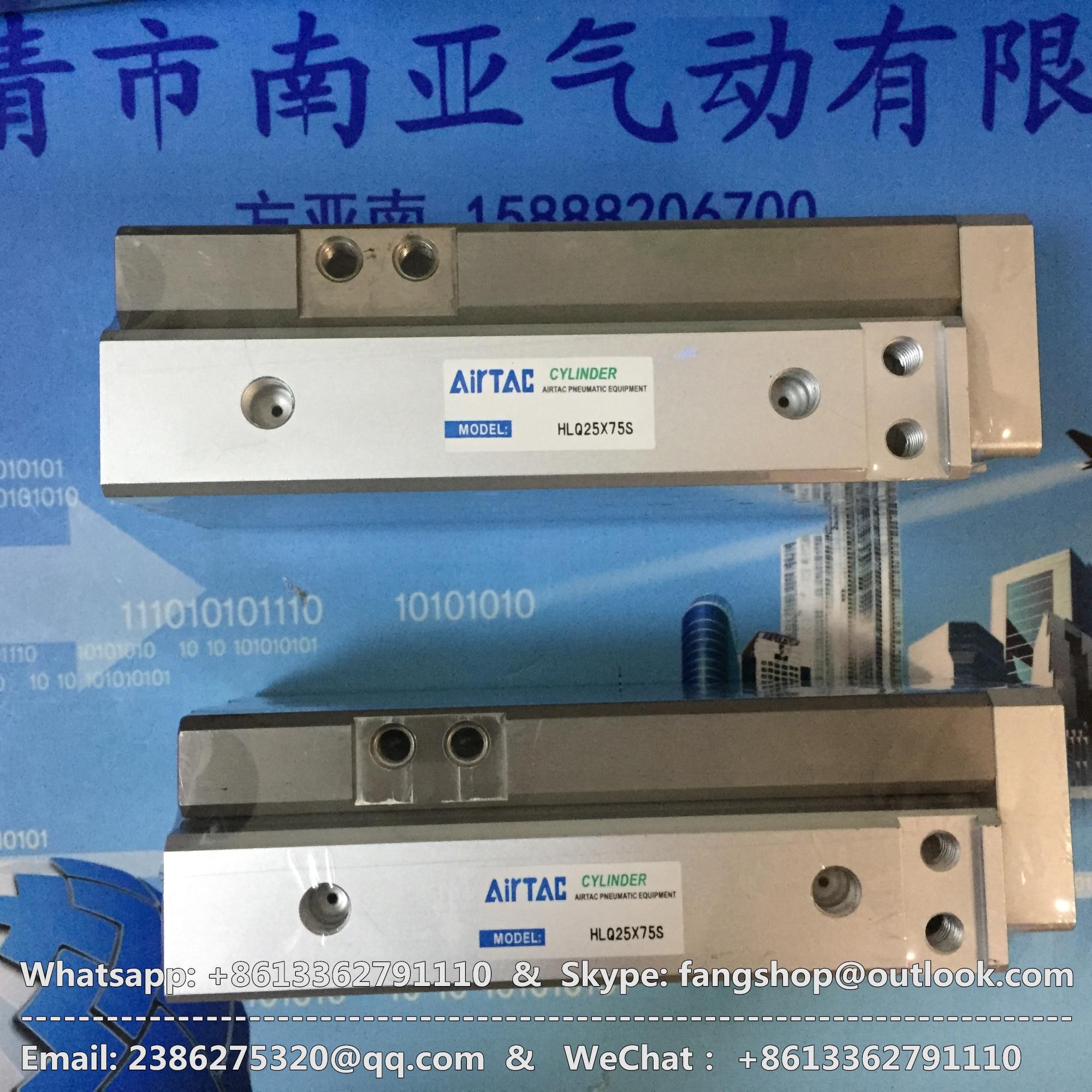 HLQ25*75S/100S/125S/150S/10A/20A/30A/40A/50A/10B/20B/30B/40B/50B AIRTAC Sliding table Cylinder hlq8 10a 20a 30a 40a 50a 75a airtac sliding table cylinder