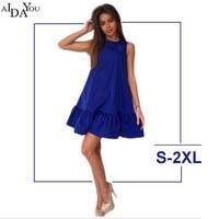 Women Oversized Pleated Plaid Dress Summer Elegant Checkered Flare Sleeve Loose Casual Sweet Dresses Vestidos AIDAYOU