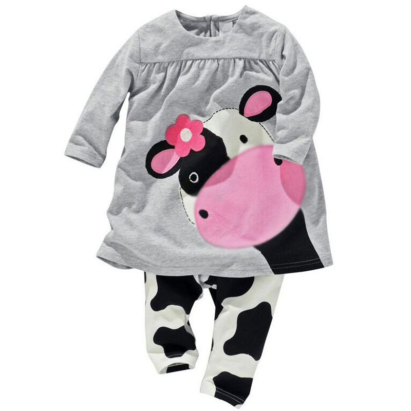 Baby Girl Clothes Autumn Baby Girl Clothing Set Cotton Children Clothes Newborn Baby Clothing Set Roupas Bebe 2018 Kids Clothes