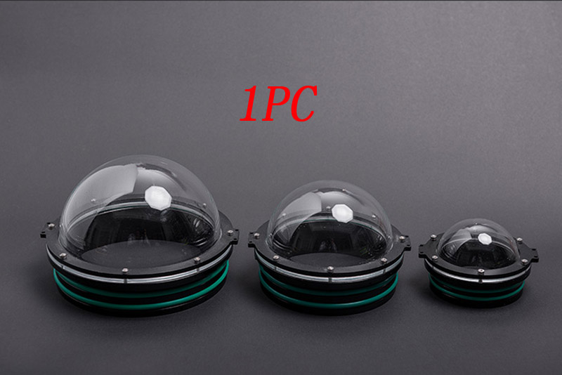1PC Acrylic Dome Cover Underwater Photography Gimbal Cover Spherical Capsule Outer Diameter 90/110/130/160mm for ROV Robot