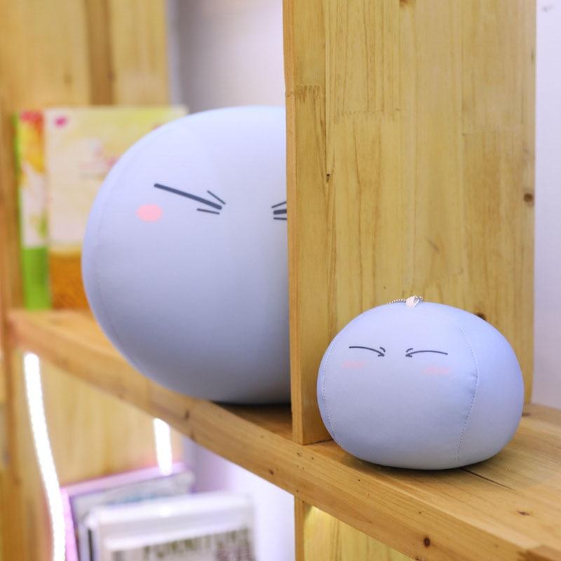 Coshome That Time I Got Reincarnated as a Slime Rimuru Tempest Cosplay Plush Toy Tensei shitara Slime Datta Ken 3pcs/set Pillow