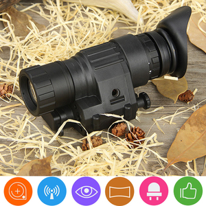 Image 3 - New PVS 14 Infrared Night Vision Monocular Digital Tactical Night Vision Scope For Shooting Telescope