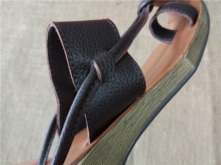 Hot,2015 new Genuine Leather pure handmade Zen Art retro Sandals ,the retro art mori girl shoes,Women's casual Sandals