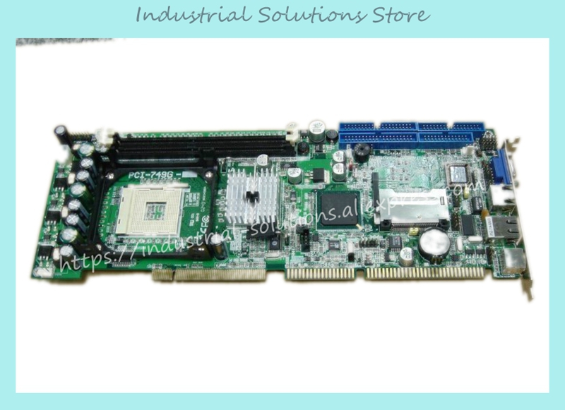 все цены на  Dual Network Card Boxed PCI-749G Industrial Motherboard 100% tested perfect quality  онлайн