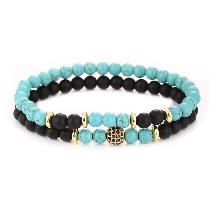2pc/Sets Natural Stone Bracelet, 2pc/Sets Bracelet, 2pc/Sets Bracelet for men, 2pc/Sets Bracelet for women, Natural Stone Bracelet for Men, Natural Stone Bracelet for Women