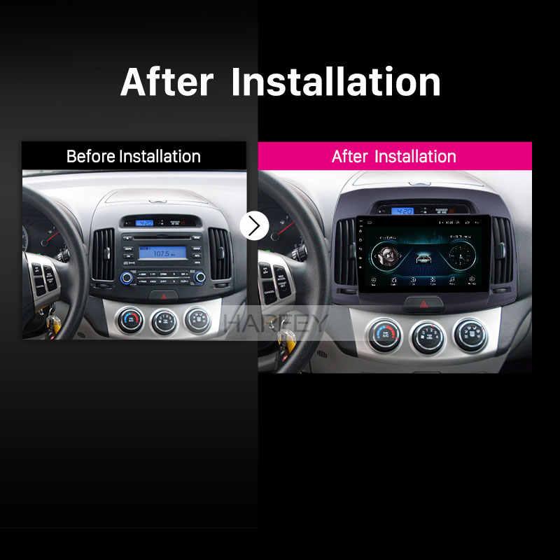 "Harfey Android 8.1 HD 9 ""GPS Navi radyo Hyundai Elantra 2007 için 2008-2011 HD dokunmatik ekran ile WIFI desteği Carplay SWC 3G"