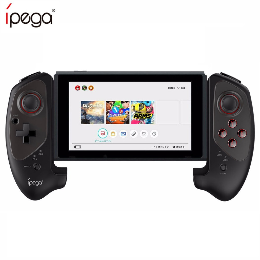 IPEGA PG-9083 Gamepad para Nintend controlador de interruptor retráctil Wireless Gamepad Bluetooth para Android IOS ganar 7 8 10 Nintendo
