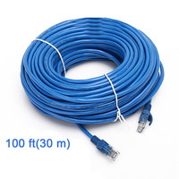 30M CAT5 CAT5E RJ45 Ethernet Cable Male To Male Network LAN Cable UTP Internet Cable Wire