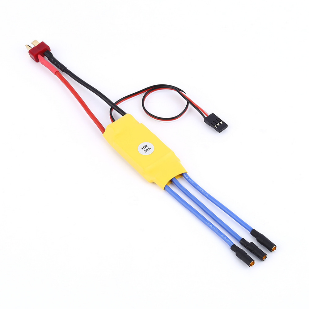 30A ESC Welding Plug Brushless Electric Speed Control 4V-16V Voltage 30a esc welding plug brushless electric speed control 4v 16v voltage