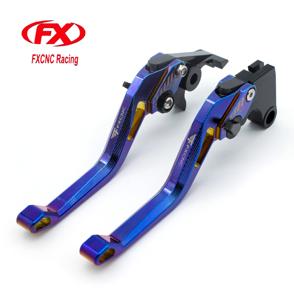FX CNC 3D Aluminum Rhombus Hollow Motorcycle Brake Clutch Levers For Yamaha FZ6R 2009 - 2015 FZ6 FAZER FZ6-N FZ6-S 2004 - 2010 6 colors cnc adjustable motorcycle brake clutch levers for yamaha yzf r6 yzfr6 1999 2004 2005 2016 2017 logo yzf r6 lever