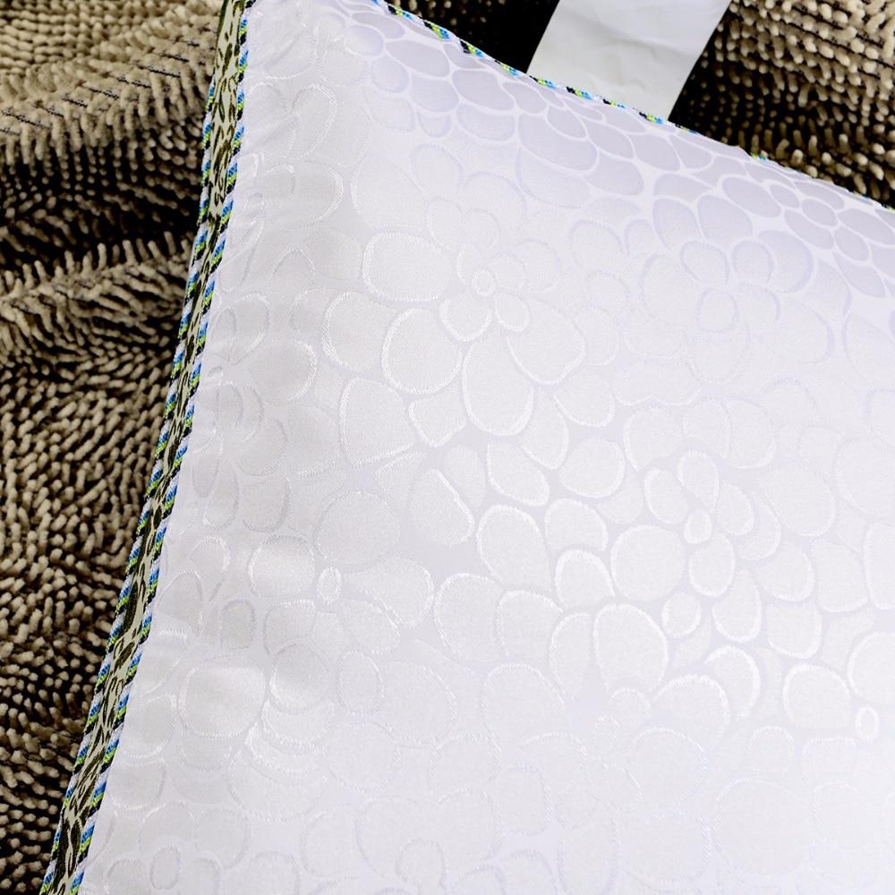 100% บรรจุผ้าไหมหม่อนหมอน 48x74 เซนติเมตรเป็นมิตรกับสิ่งแวดล้อมผ้าไหมธรรมชาติบริสุทธิ์-ใน หมอนอิง จาก บ้านและสวน บน   2