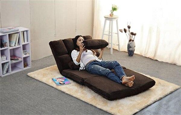 Convertible Futon Flip Chair Sleeper 4