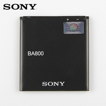Original Sony Battery For SONY Xperia S LT25i Xperia V LT26i AB-0400 BA800 1700mAh Authentic Phone Replacement Battery