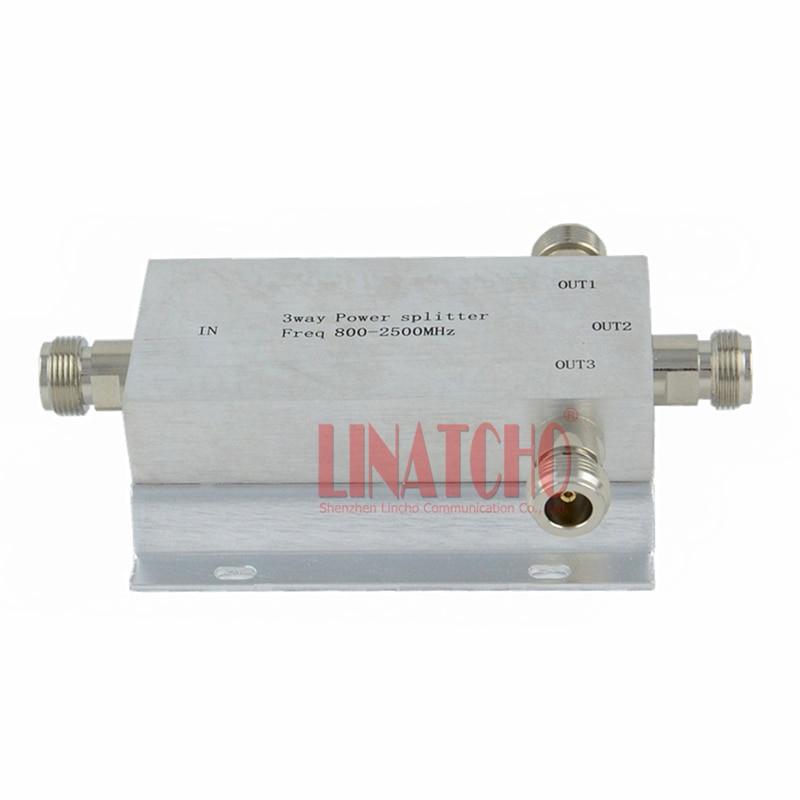 3-vägs n typ rf power divider power splitter 800-2500MHz signal - Kommunikationsutrustning - Foto 4