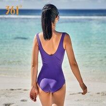 Купить с кэшбэком 361 Swimwear Female Professional Sports Bikini Women Sexy One Piece Backless Push Up Swimsuit Ladies Pool Swim Suit For Women