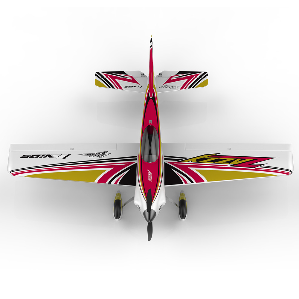 HSD Hobby Zazzy D300-3A Sport Electric Foam RC propeller plane hobby