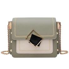 JUILE Ins fashion lock women's bag high quality pu leather Ladies shoulder Crossbody popular design Female handbag Messenger
