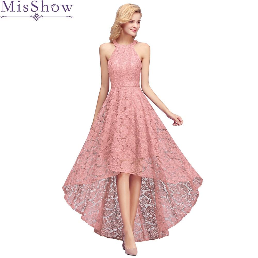 Robe Demoiselle D'honneur Dust Pink Sleeveless Bridesmaid Dresses 2019 Elegant Sexy Halter Wedding Formal Dress Gown Plus Size