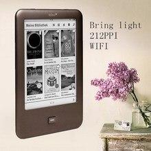 Толино блеск для чтения электронных книг WI-FI e чернила для чтения электронных книг 4 Гб e-ink 6 дюймовый сенсорный экран 1024x758 встроенный светильник книги для чтения электронных книг e чернила