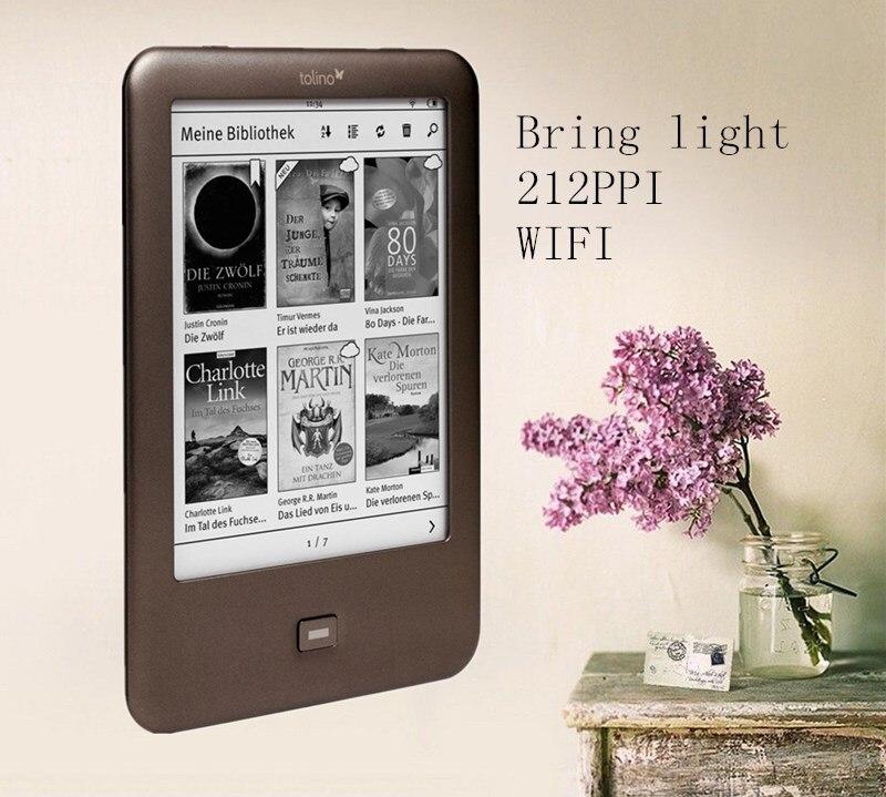 Tolino Shine 1 eBook reader WIFI e ink ebook reader 4GB e