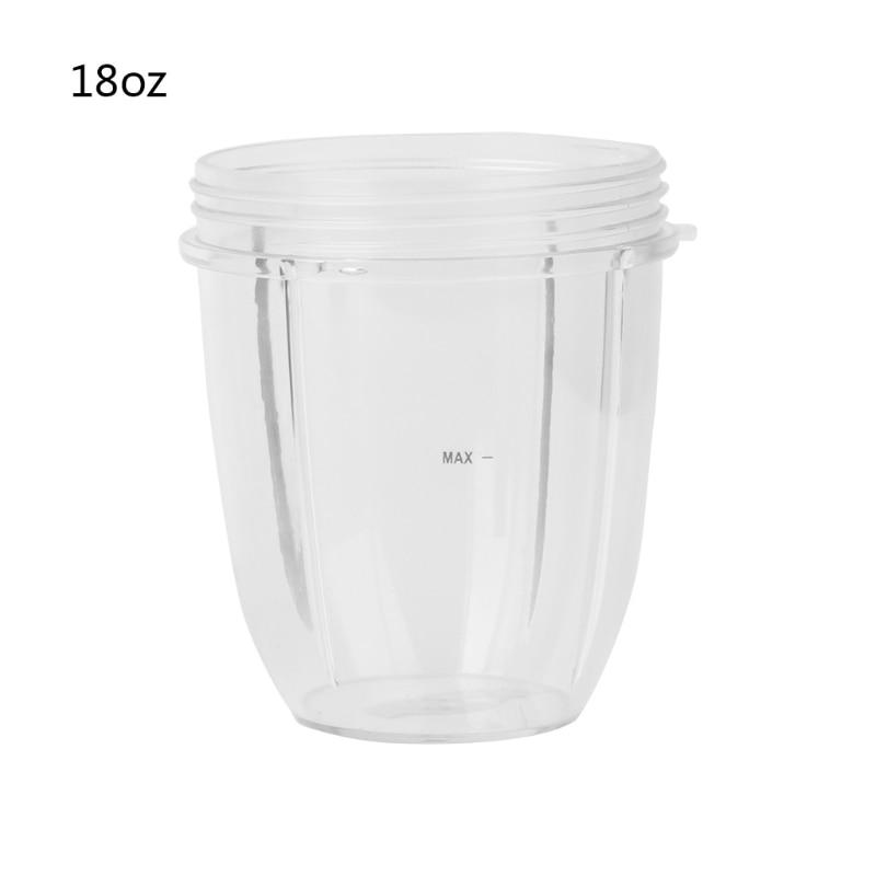 Juicer Cup Mug Clear Replacement For NutriBullet Nutri Bullet Juicer 18OZ
