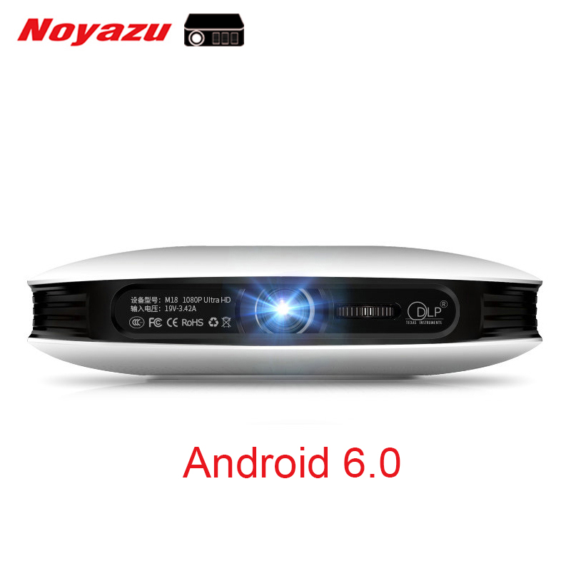 Noyazu Portable HD 1080p Android WIFI Smart 3D 4K Home Theater Cinema Projector Proyector Beamer Support AirPlay Miracast everyone gain blu ray 3d smart android projector wifi bt dlp tv led home theater proyector with touch button dh a70 beamer