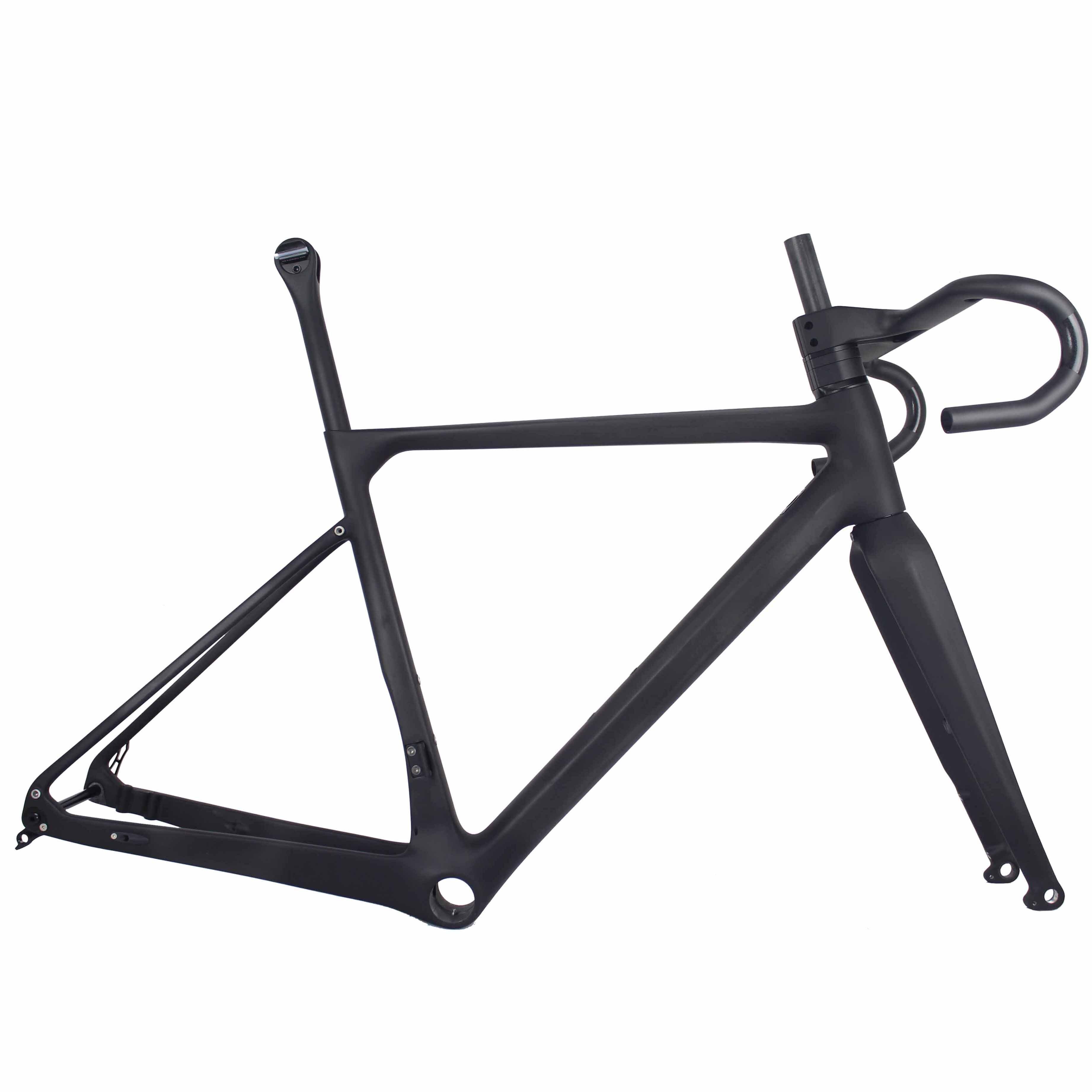 2019 China Factory New Design , Toray Full Carbon Fiber Gravel Bike Frame GR039 , Bicycle GRAVEL Frame Factory Deirect Sale