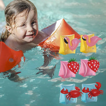 Cartoon Unicorn Swimming Arm Ring Flamingo Inflatable Bands Floatation Sleeves Water Wings Float for Children