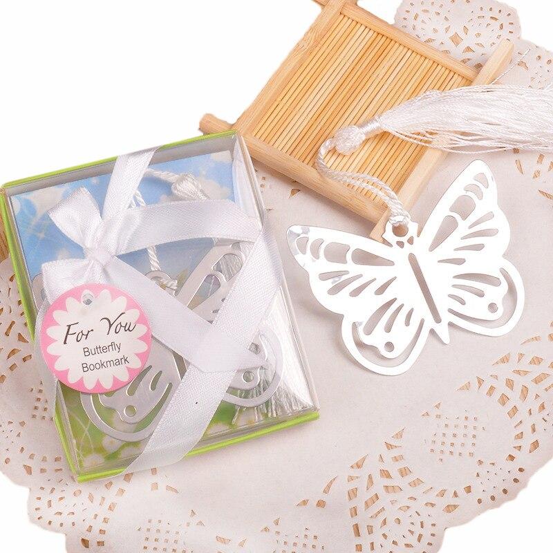 20pcs Butterfly Bookmark Regalos De Boda Para Los Invitados Girl