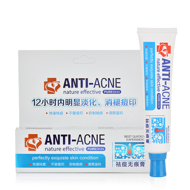 Traditional Chinese Medicine Acne Cream Acne Acne Blain To Imprint Scar Effective Safety Moderate Poison Face