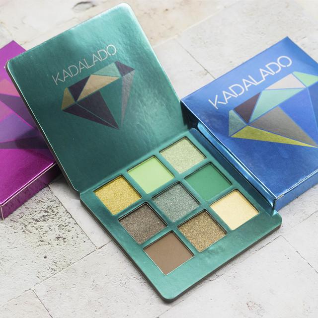9 Colors Glittering & Matte Long Lasting Eyeshadow Palette