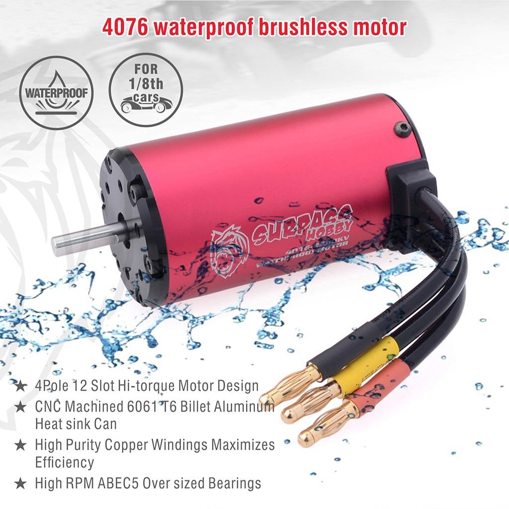 Brushless 2000KV Motor For 1:8 EREVO E-Revo E-Maxx UDR 6S 150A Waterproof ESC