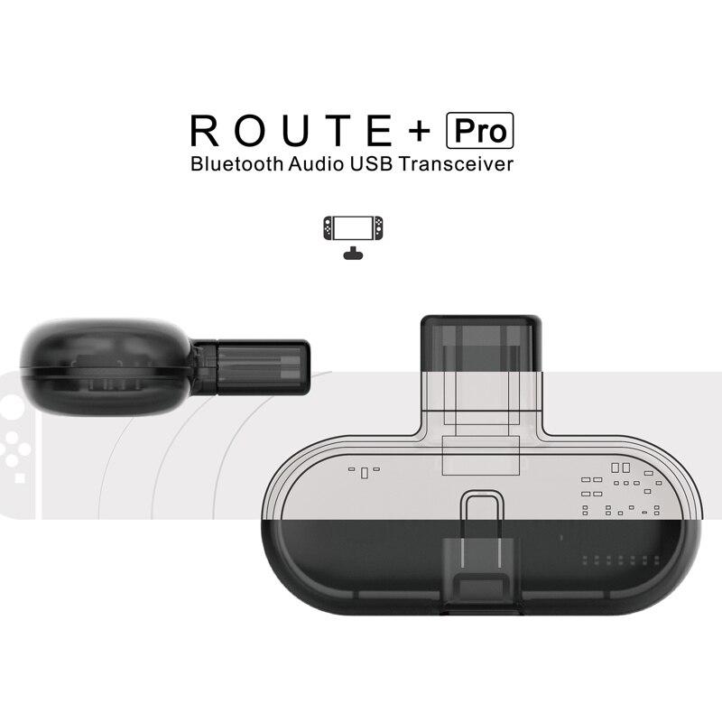GB1 PRO Bluetooth Émetteur pour Nintendo Commutateur PC USB Type-c Sans Fil Adaptateur Émetteur-Récepteur pour Console Casque avec mic