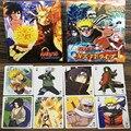 54 unids/set Naruto Figuras de Acción Naruto Colección Poker Cards Tarjeta de Caja de Embalaje de Color Kid Juguete de Regalo