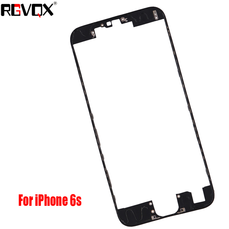 New LCD Touch Screen Front Frame Middle Bezel For iPhone 5 5S 5C 6 6S Plus&3M Adhesive Bracket Holder image
