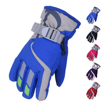 Zimní voděodolné dětské rukavice