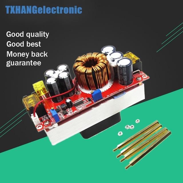 1800W 40A 1500W 30A 1200W 20A DC DC Boost Converter zwiększona moc moduł zasilający 10 60V do 12 90V regulowane napięcie ładowarka