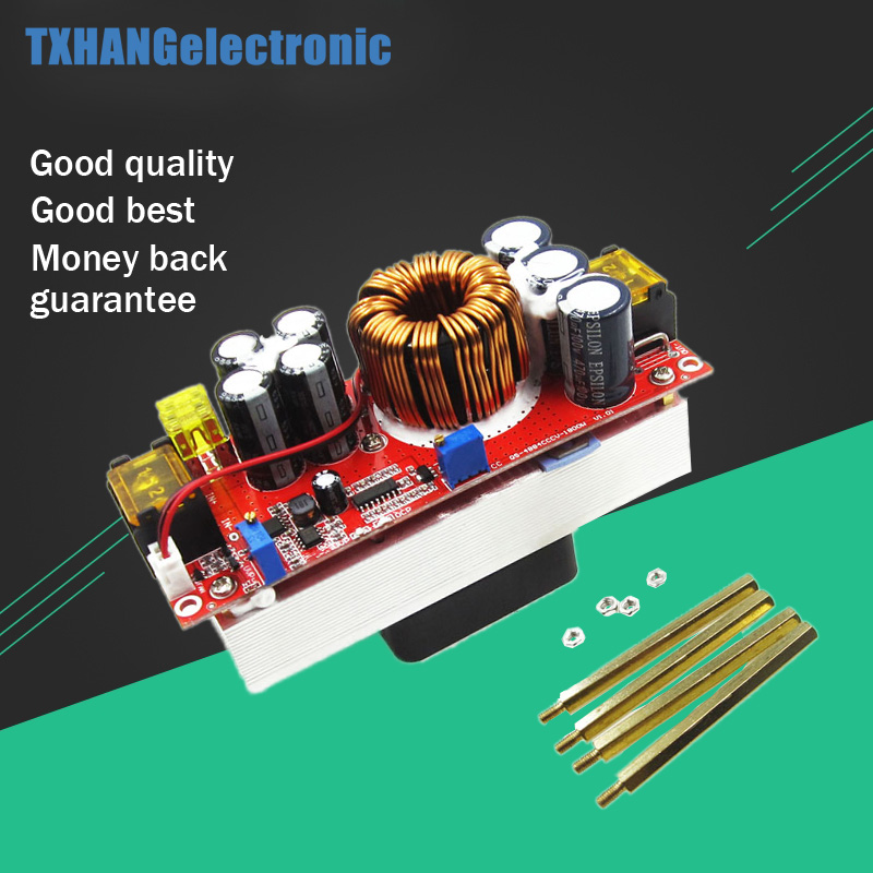 1800W 40A DC-DC Boost Converter Step Up Power Supply Module 10-60V to 12-90V adjustable voltage charger