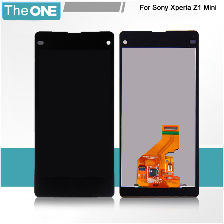 ФОТО Black LCD For Sony Xperia Z1 Mini Compact D5503 M51w LCD Display + touch screen with digitizer Full Assembly , Free shipping !!!